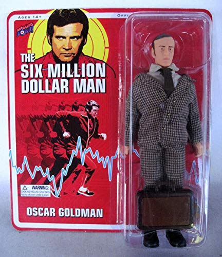 Oscar Goldman Six Million Dollar Man Action Figure w/Briefcase!
