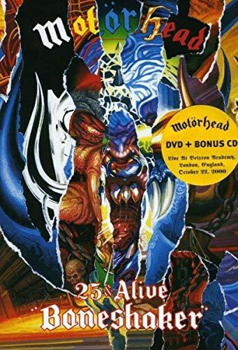 Motorhead - Boneshaker 25 & Alive - Dvd(+CD)