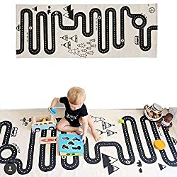 Best travel toys for toddlers featured by top Seattle family travel blog, Marcie in Mommyland: Children's Play rug