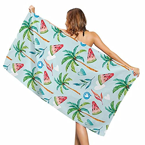 Toalla de baño chal de protección solar con impresión creativa, diseño abstracto, gran toalla de playa, toalla de playa de microfibra, toalla de baño, toalla de viaje antiarena
