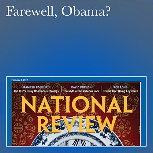 Farewell, Obama? audiobook cover art