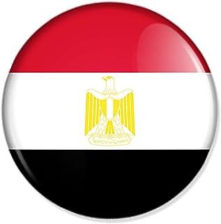 Yantec Flaggenpin /Ägypten rechteckig Pin Anstecknadel Fahnenpin