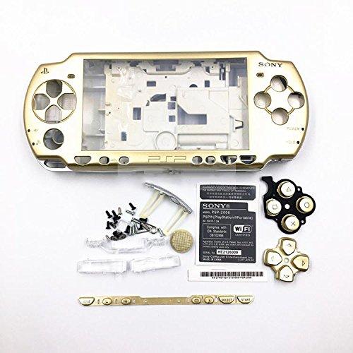 Carcasa completa de reparación Mod Case Shell Face Plate Case + botones...