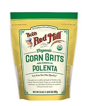Bob s Red Mill Organic Corn Grits/ Polenta 24 Oz