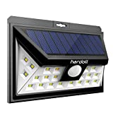 Hardoll 24 Led Solar Lights Wide Angle Outdoor Motion Sensor With 3 Leds (Both Side For Driveway)