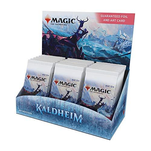 Magic The Gathering Kaldheim Set Booster Box | 30 Packs (360 Magic Cards)