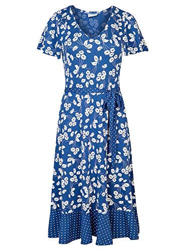 Vive Maria Mon Avignon Kleid Blau Allover, Größe:S
