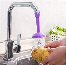 Truelife TRIPZIRA Kitchen Faucet Plastic Adjustable Tap Extender, Sink Tap Shower Head Nozzle Saving Water for Kitchen Water Outlet Shower Head Water Filter Sprinkler (Multicolor)