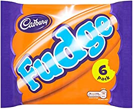 Cadbury Fudge British Chocolate Bar 6 Pack (156g)