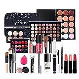 PW TOOLS Juego de Maquillaje Multiusos, Kit de Maquillaje Todo en un-o, Kit básico básico de Maquillaje Completo con Efecto de Larga duración para Principiantes, niñas y Mujeres