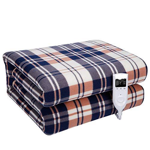 Jinhh Elektrische deken voor bank, bed, wasbaar, met verwarming, sofa, tweepersoonsbed, verwarmingsdeken, elektrisch, verwarmingskussen van wol