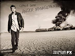 DJ3353 Anger Management Charlie Sheen TV Series 32x24 Print POSTER