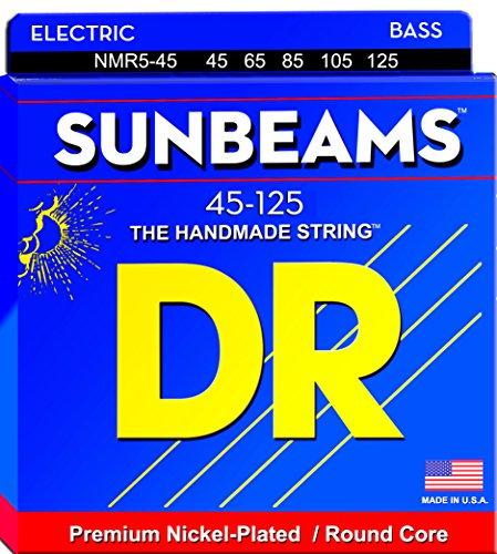 DR Strings SUNBEAM NMR5-45 Sunbeam Medium Saite (5-String)