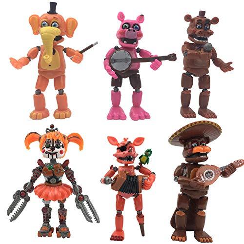 Zhongkaihua 5/6/8pcs/Set Five Nights At Freddy's Toys FNAF...