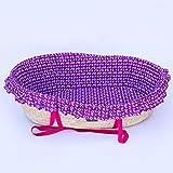 DAFREW Panier de Couchage pour bébé portatif Berceau Garçon Fille Mode Nouveau-né 0-12 Mois (Couleur : Purple)