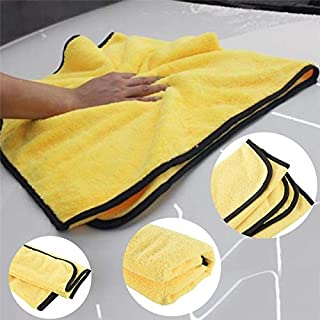 92 * 56cm Car Wash Microfiber Towel Car Cleaning Drying Cloth Large Size Detailing Towel : Other