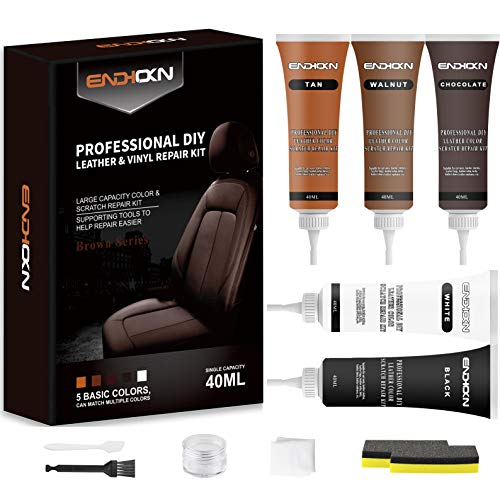 Endhokn Leather Color, Scratch Repair Kit, Leather Furniture, Jacket, Car...