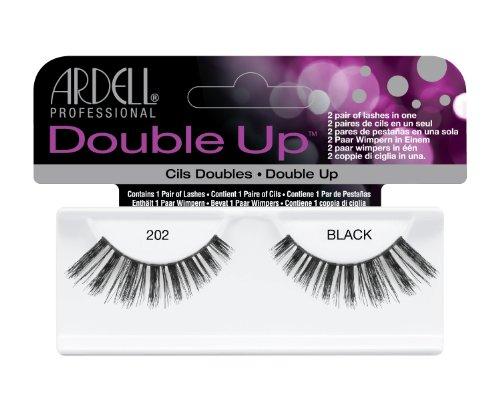 Ardell Double Up Lash 202, het origineel, zwart, 1 paar