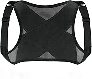 EODNSOFN Réglable adulte à l'épaule d'adulte Support Posture Correcteur Taille Hunchback Courroie de correction invisible ...