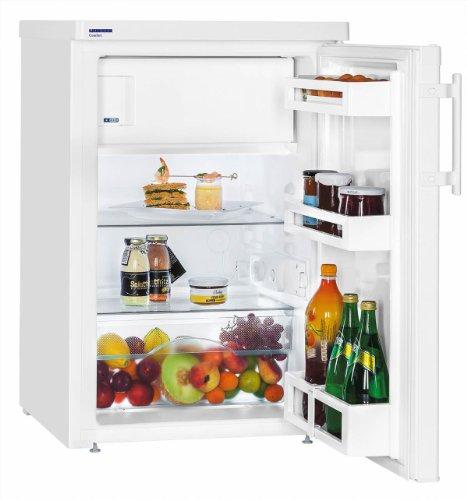 Réfigérateur Table top Liebherr TP1434-21 - Table top - 122 litres - Réfrigerateur/congel : Froid statique / Froid statique - Dégivrage automatique - Blanc - Classe A+++ / Pose libre