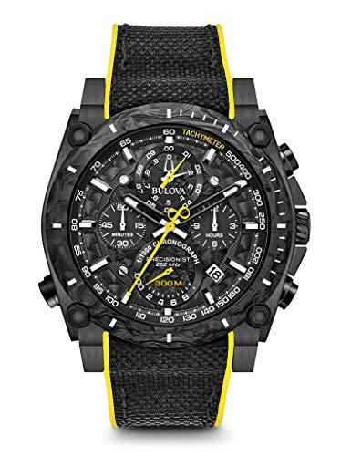 Bulova Reloj Cronógrafo para Hombre de Cuarzo con Correa en Nailon 98B312