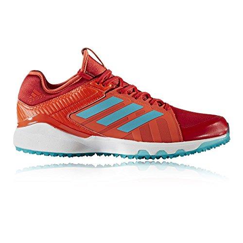 adidas adidas Hockey Lux Red Aqua Schuh - SS18, Gr. 46, Rot