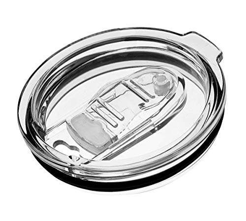 20 oz Insulated Tumbler Slider Lid Splash Proof Lid Press-In Replacement Lid for Classic Stainless Steel Tumblers lids Replacement (20 oz, AS Slider)