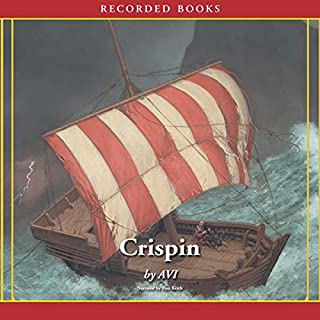 Crispin, at the Edge of the World audiobook cover art