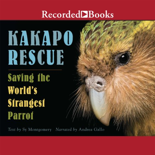 Kakapo Rescue audiobook cover art