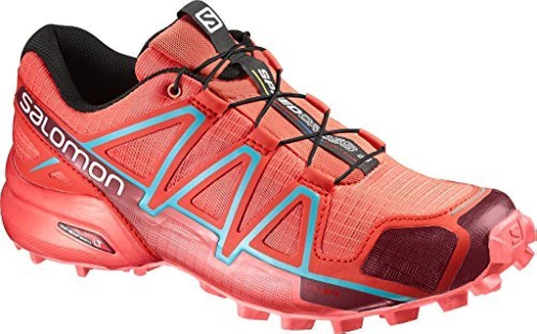 ヒューバートハドソンプライバシーマーカーSalomon Speedcross 4 Women's Trail Running Shoes - AW16-9.5 - Red [並行輸入品]