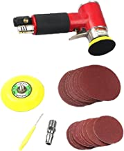 Pneumatische Sander Air Sander mini Pneumatische slijpmachine Set voor auto polijsten 24st rood
