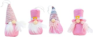 CATSRE 4 قطعة/مجموعة اليدوية عيد الميلاد السويدية Tomte Santa Gnome دمية زخرفة معلقة شجرة عيد الميلاد الدمى