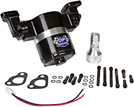 Chevy Small Block Electric Water Pump - 35 GPM, Black Aluminum, 283, 327, 350, 400, SBC
