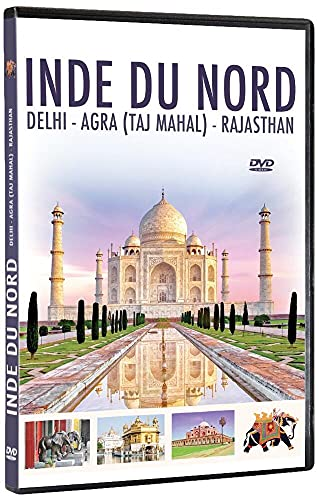Inde du nord : Dehli - Agra (Taj Mahal) - Rajasthan [Francia] [DVD]