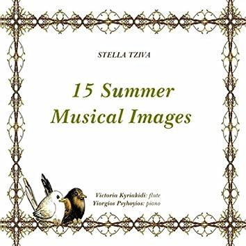 Stella Tziva, 15 Summer Musical Images