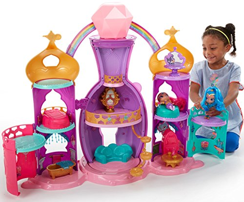Fisher-Price Nickelodeon Shimmer & Shine, Magical Light-Up Genie Palace Playset