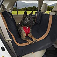 Protect your car's seats: This convenient dog hammock and seat cover is water-resistant, stain resistant and machine washable to protect your seats from hair, dirt and any other messes your dog may track into the car Protection for Fido and family: T...