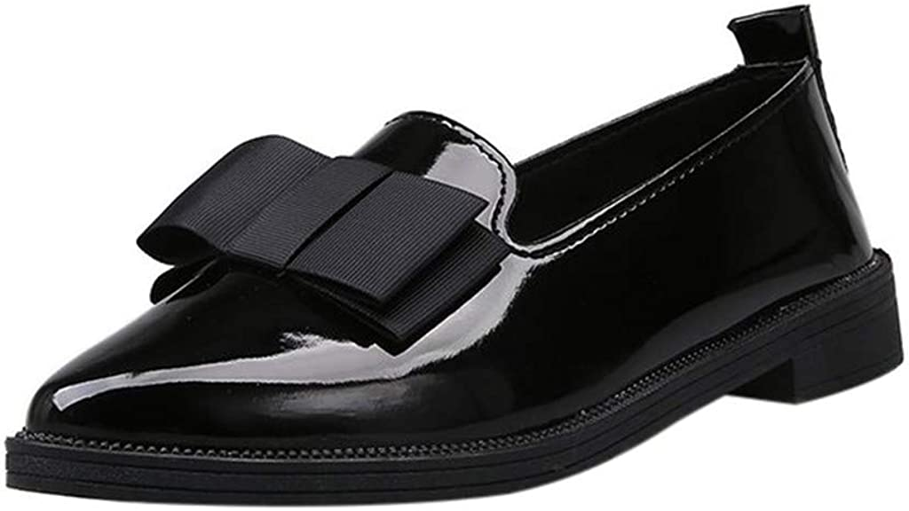 San Spasm price Jose Mall Ezeerae Womens Flats Pointed Patent Shoes Women for Flat Leather