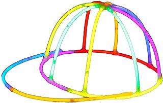 Kreative DIY Leuchtender Hut Knicklichter Kappe Baseball Cap Party Hut für Halloween Und Konzert