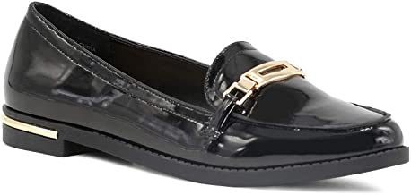 London Rag Loafers with Gold Trims