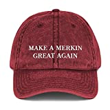 Make A Merkin Great Again Hat (Vintage Cotton Twill...
