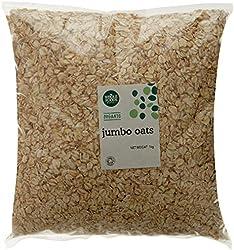 Whole Foods Market Organic Jumbo Oats, 1Kg