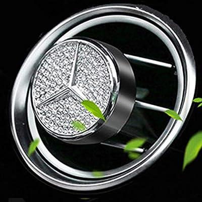 VILLSION Car Logo Smell Fresh Car Vent Clip Diffuser Air Conditioning Air Freshener Fragrance Scent for Driver