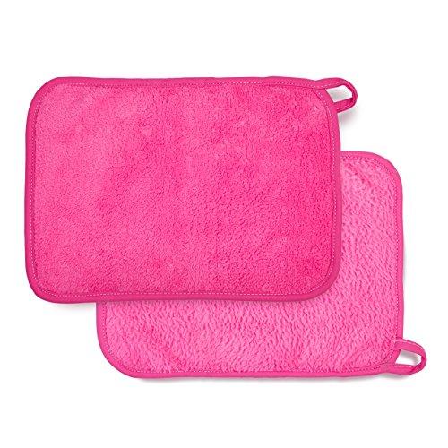 Lumaland Make-Up Entferner Tuch, Kosmetik Abschminktuch aus Mikrofaser im 2er Set, hautfreundlich...