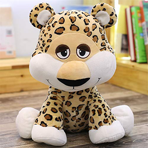 SXPC Netter Jaguar Puppe Gepard Puppe Leopard Plüschtier Leopard Puppe Baby Spielzeug Kissen Geschenk,50cm