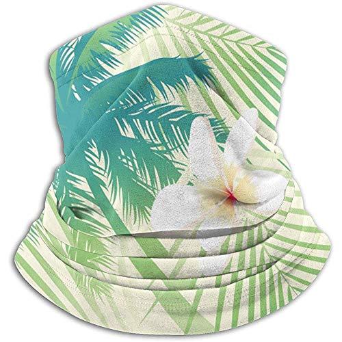 Archiba Palm Tree Leaf Balaclava Womens Headband Scarf Mens Bandana, Muffler, Neck Gaiter