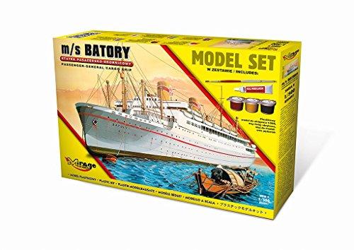 Mirage Hobby 850091 – Modèle Kit M/S Batory Trans Kit de Gènes General Cargo Ship Model pour Atlantic Passenger