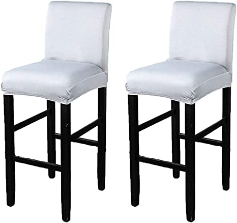 Stretch Chair Covers Protector Bar Stool Slipcover for Wedding Supplies