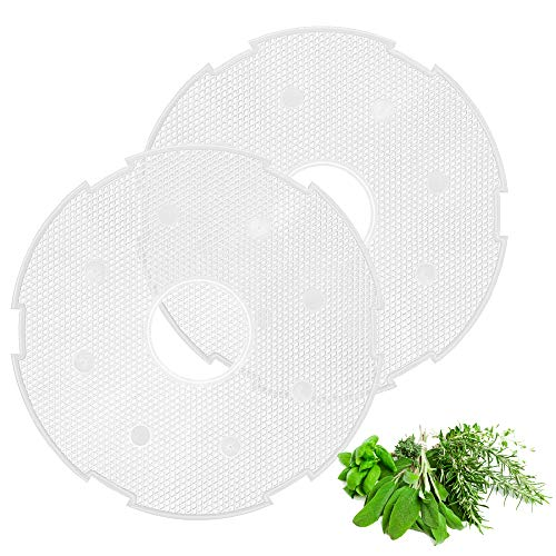 Buy Bargain Flexzion Round Fruit Leather/Fruit Roll Up Tray for Electric Food Dehydrator Machine (11...