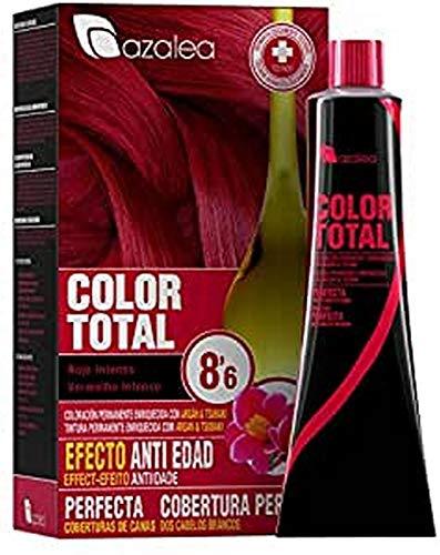 Azalea Color Total Tinte Tono 8.6 Rojo Intenso - 100 gr